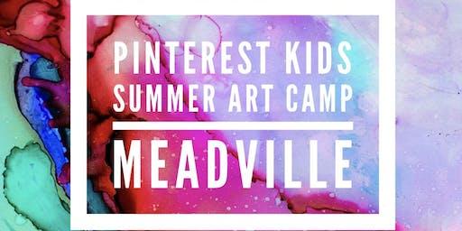 Pinterest Kids Summer Art Camp 2019 - Meadville - Ages 5-15