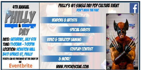 Philly Comics & Cosplay Day 2019 tickets