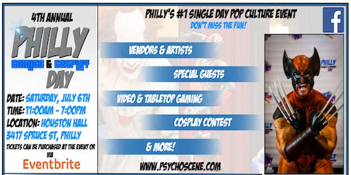 Philly Comics & Cosplay Day 2019