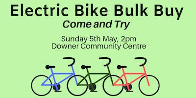 Electric Bike Come-and-Try Day
