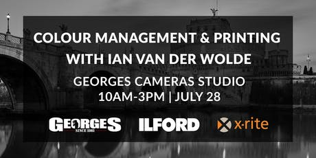 Colour Management & Printing with Ian Van Der Wolde tickets