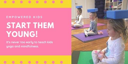 Preschool Yoga at Rokabye