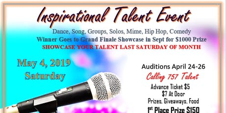 Inspirational Talent Showcase with Grand Prize tickets