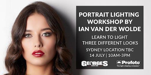 Portrait Lighting Workshop with Ian Van Der Wolde