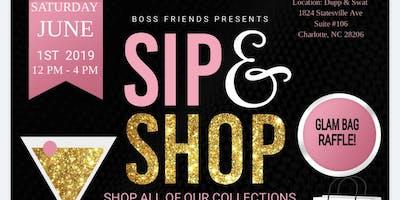 BOSS FRIENDS presents Sip -n- Shop Mix and Mingle