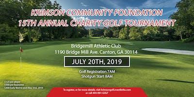 15th Annual Krimson Community Foundation Charity Golf Tournament