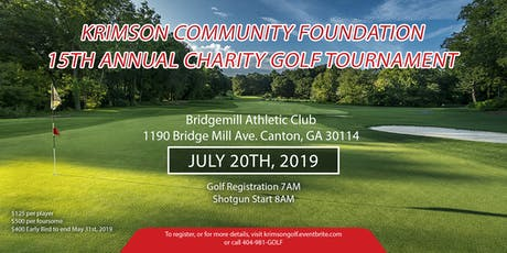 15th Annual Krimson Community Foundation Charity Golf Tournament tickets