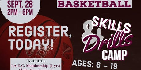 Youth Basketball Skills & Drills Camp tickets