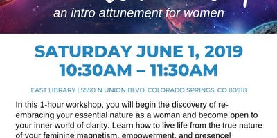 Sacred Reset Workshop: An Intro Attunement for Women