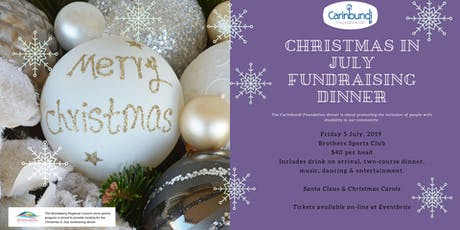 Christmas in July Community Fundraising Dinner, Bundaberg tickets