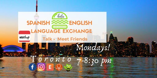 Spanish-English Language Exchange Toronto
