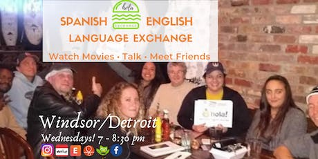 Spanish-English Language Exchange Windsor tickets