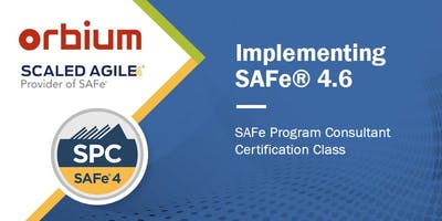 Implementing SAFe® - SAFe® Program Consultant Certification Training; Presented by Scaled Agile, Inc. - Hosted by Orbium