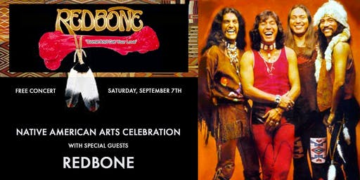 Native American Arts Celebration with special guests Redbone and Cary Morin