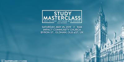 Bible Study MasterClass with Paul Gibbs