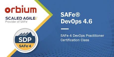 SAFe® 4 DevOps Practitioner Certification (SDP) Scaled Agile tickets