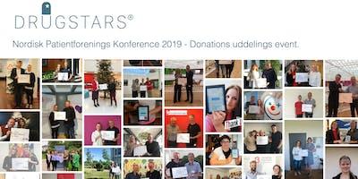 Nordisk Patientforenings Konference 2019 - DrugStars Donations Uddeling