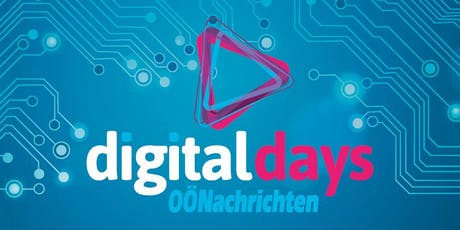 OÖNachrichten Digital Days 2019 Tickets