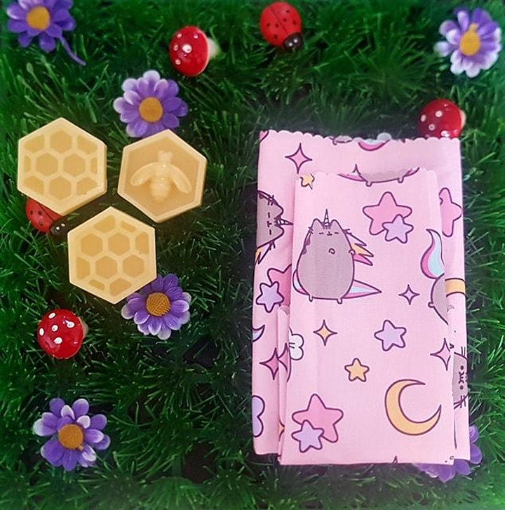Make your own beeswax wraps! Hosted by Cassidy from None of your Beeswax NT image