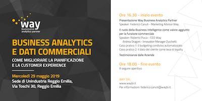 Analytics e Dati Commerciali in Ottica 4.0