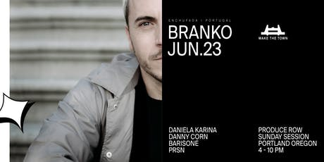 Wake The Town—Sunday Session w/ Branko tickets