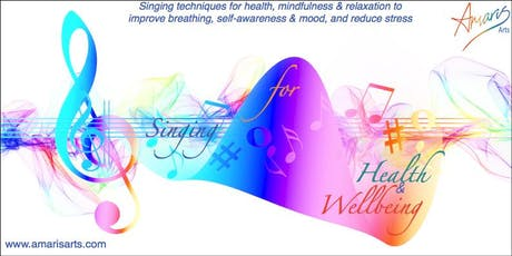 Singing for Health & Well being FREE taster anytime tickets