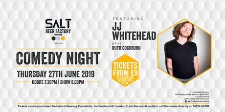 Kill For A Seat Comedy with JJ Whitehead tickets