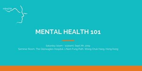 Mind HK: Mental Health 101 September tickets