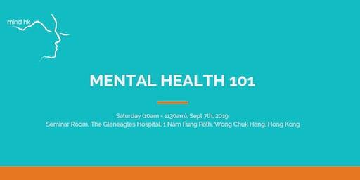 Mind HK: Mental Health 101 September