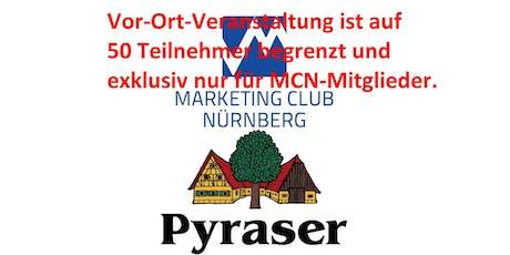 ARMes Marketing - Mit kleinem Budget gegen die Großen - Marketing Club Nürnberg - MCN - nur für Mitglieder Tickets