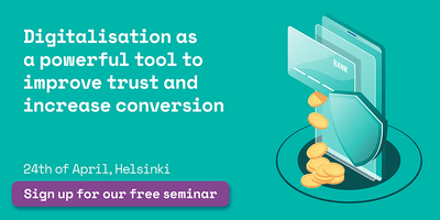 How digitalisation buys trust & boosts conversion