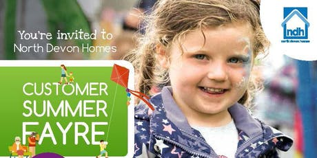 North Devon Homes Customer Summer Fayre 2019 tickets
