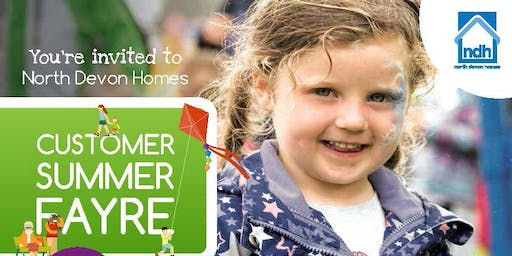 North Devon Homes Customer Summer Fayre 2019