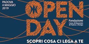 Open Day Padova | PRESENTAZIONE BILANCI 2018