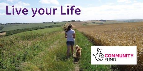 Live your Life workshop - Nottingham tickets