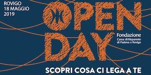 Open Day Rovigo | PRESENTAZIONE BILANCI 2018