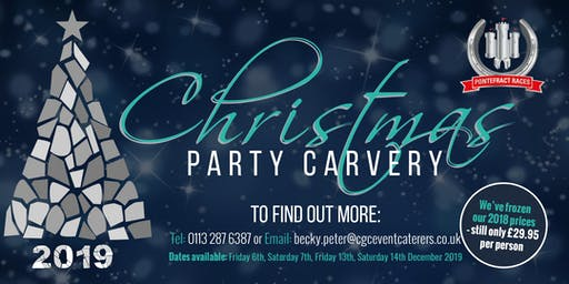 Christmas Carvery Party Night at Pontefract Racecourse