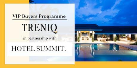 VIP Programme: Hotel Summit x Treniq tickets