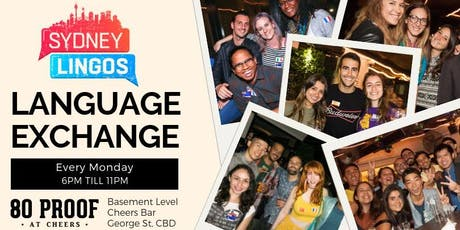 EVERY Monday - Sydney Lingos Language Exchange tickets