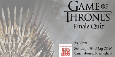Game of Thrones Finale Quiz Night