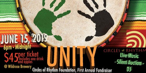 UNITY-First Annual Fundraiser: Recovery, Resiliency, Reconciliation: Rhythm