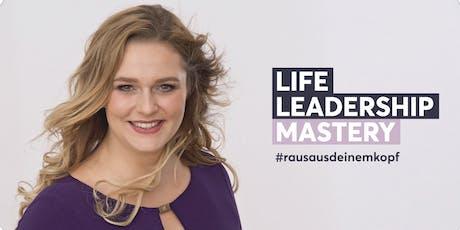 Life Leadership Mastery - 08/2020 tickets