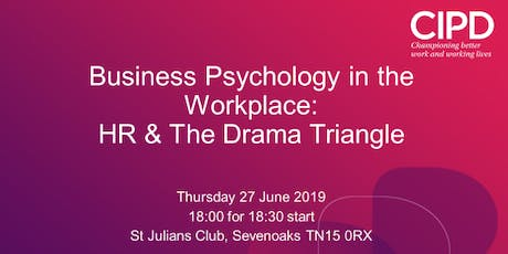 Business Psychology in the Workplace: HR & The Drama Triangle tickets