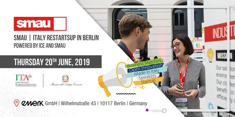 SMAU | Italy RestartsUP in Berlin powered by ICE and SMAU Tickets