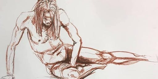 4 hour Life Drawing 13th July 2019