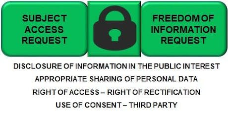 Subject Access Requests & Freedom of Information Request Workshop tickets