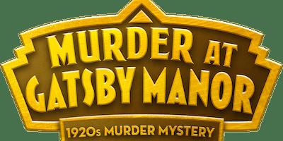 THE GATSBY MURDER  MYSTERY EVENING