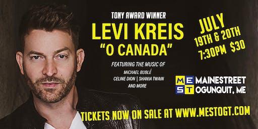 """Levi Kreis - """"O"""" Canada"""