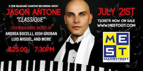 Jason Antone - Classique tickets