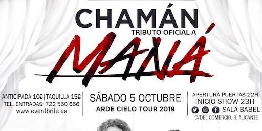 Chamán. Tributo oficial a Maná en concierto.